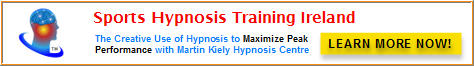 Sports Hypnosis Training Ireland Martin Kiely Hypnosis Centre Cork